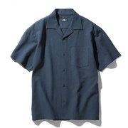 ショートスリーブクライミングサマーシャツ S/S Climbing Summer Shirt NR21931 (UN)アーバンネイビー  Mサイズ [アウトドア シャツ メンズ]