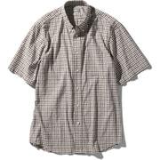 ショートスリーブヒデンバリーシャツ S/S Hidden Valley Shirt NR21967 (RG)ブラウンギンガム Lサイズ [アウトドア シャツ メンズ]