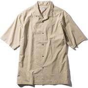ショートスリーブマラパイヒルシャツ S/S Malapai Hill Shirt NR22060 (WB)ツイルベージュLサイズ [アウトドア シャツ メンズ]