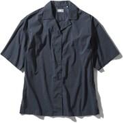 ショートスリーブマラパイヒルシャツ S/S Malapai Hill Shirt NRW22033 (UN)アーバンネイビー Mサイズ [アウトドア シャツ レディース]