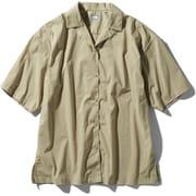 ショートスリーブマラパイヒルシャツ S/S Malapai Hill Shirt NRW22033 (WB)ツイルベージュ Lサイズ [アウトドア シャツ レディース]