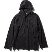 テックラウンジパーカ T-LOUNGEPARKA NT11962 (K)ブラック Lサイズ [アウトドア カットソー メンズ]