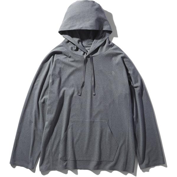 テックラウンジパーカ T-LOUNGEPARKA NT11962 (ZZ)ミックスグレー2 XLサイズ [アウトドア カットソー メンズ]