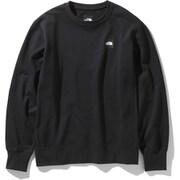 ヘザーロゴクルー HEATHER LG CREW NT12038 (K)ブラック Lサイズ [アウトドア カットソー メンズ]