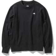 ヘザーロゴクルー HEATHER LG CREW NT12038 (K)ブラック XXLサイズ [アウトドア カットソー メンズ]