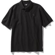 ショートスリーブカジュアルポロ S/S Casual Polo NT21951 (K)ブラック XLサイズ [アウトドア カットソー メンズ]
