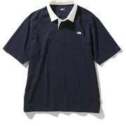 ショートスリーブラグビーポロ S/S Rugby Polo NT22035 (UN)アーバンネイビー XLサイズ [アウトドア カットソー メンズ]