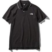 ショートスリーブマキシフレッシュラインドポロ S/S MAXIFRESH Lined Polo NT22043 (K)ブラック XLサイズ [アウトドア カットソー メンズ]