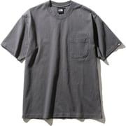 ショートスリーブヘビーコットンティー S/S Heavy Cotton Tee NT32009 (AG)アスファルトグレー Sサイズ [アウトドア カットソー メンズ]