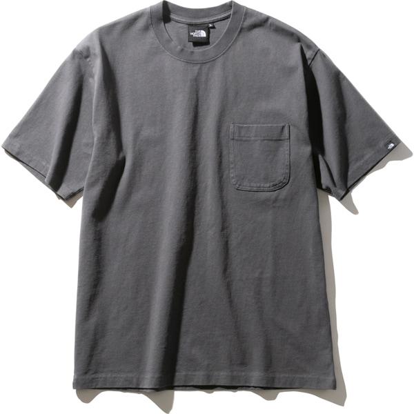 ショートスリーブヘビーコットンティー S/S Heavy Cotton Tee NT32009 (AG)アスファルトグレー Mサイズ [アウトドア カットソー メンズ]