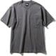 ショートスリーブヘビーコットンティー S/S Heavy Cotton Tee NT32009 (AG)アスファルトグレー XLサイズ [アウトドア カットソー メンズ]