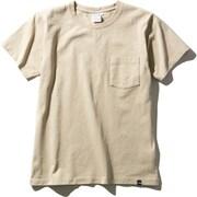 ショートスリーブヘビーコットンティー S/S Heavy Cotton Tee NTW32048 (WB)ツイルベージュ XLサイズ [アウトドア カットソー レディース]