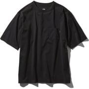ショートスリーブエアリーポケットティー S/S Airy Pocket Tee NT11968 (K)ブラック XLサイズ [アウトドア カットソー メンズ]