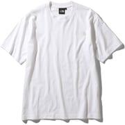 ショートスリーブスモールワンポイントロゴティー S/S Small One Point Logo Tee (W)ホワイト Mサイズ [アウトドア カットソー メンズ]