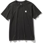 ショートスリーブスモールボックスロゴティー S/S Small Box Logo Tee (K)ブラック Mサイズ [アウトドア カットソー メンズ]