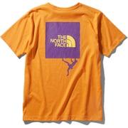 ショートスリーブクライミングスクエアロゴティー S/S Climbing Square Logo Tee NT32059 (FO)フレームオレンジ XLサイズ [アウトドア カットソー メンズ]