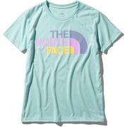 ショートスリーブカラフルロゴティー S/S Colorful Logo Tee NTW32037 (CG)コースタルグリーン Lサイズ [アウトドア カットソー レディース]