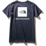 ショートスリーブスクエアーロゴティー S/S Square Logo Tee NTW32038 (UN)アーバンネイビー Lサイズ [アウトドア カットソー レディース]