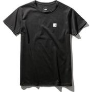 ショートスリーブスモールボックスロゴティー S/S Small Box Logo Tee NTW32052 (K)ブラック Lサイズ [アウトドア カットソー レディース]