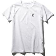 ショートスリーブスモールボックスロゴティー S/S Small Box Logo Tee NTW32052 (W)ホワイト Lサイズ [アウトドア カットソー レディース]