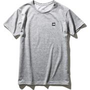 ショートスリーブスモールボックスロゴティー S/S Small Box Logo Tee NTW32052 (Z)ミックスグレー Lサイズ [アウトドア カットソー レディース]