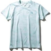 ショートスリーブタイダイティー S/S Tie Dye Tee NTW32057 (CG)コースタルグリーン Lサイズ [アウトドア カットソー レディース]