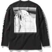 ロングスリーブグラフィックティー L/S Sleeve Graphic Tee NT32042 K XLサイズ [アウトドア カットソー メンズ]