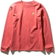 ロングスリーブステッチマークティー L/S Stitch Mark Tee NTW32051 (SR)サンベイクドレッド Lサイズ [アウトドア カットソー レディース]