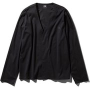 テックラウンジカーディガン Tech Lounge Cardigan NT11961 (K)ブラック Sサイズ [アウトドア カットソー メンズ]