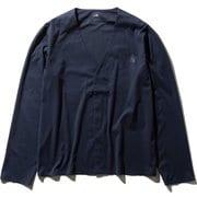 テックラウンジカーディガン Tech Lounge Cardigan NT11961 (UN)アーバンネイビー Lサイズ [アウトドア カットソー メンズ]