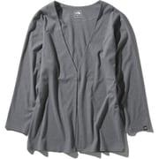 テックラウンジカーディガン Tech Lounge Cardigan NTW11961 ミックスグレー2(ZZ) Mサイズ [アウトドア カットソー レディース]