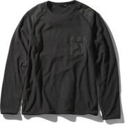 バーサマイクロスウェット VERSA MICRO SWEAT NL22061 (K)ブラック XLサイズ [アウトドア カットソー メンズ]