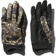 シンプルトレッカーズグローブ Simple Trekkers Glove NN12004 (DC)デジタルカモ Sサイズ [アウトドア グローブ]