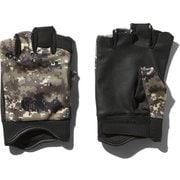 シンプルフィンガーレストレッカーズグローブ Simple FL Trekkers Glove NN12005 (DC)デジタルカモ Sサイズ [アウトドア グローブ]
