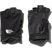 シンプルフィンガーレストレッカーズグローブ Simple FL Trekkers Glove NN12005 (K)ブラック Mサイズ [アウトドア グローブ]
