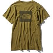 ショートスリーブスクエアロゴジャカードティー S/S Square Logo Jacquard Tee NTW12008 ファーグリーン(FE) Lサイズ [アウトドア カットソー レディース]