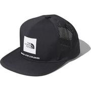 テックロゴキャップ Tech Logo Cap NN02078 (K)ブラック [アウトドア 帽子]