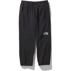 ドリズルワンダーパンツ Drizzle Wonder pants NPJ12003 (K)ブラック 110サイズ [アウトドア パンツ キッズ]