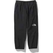 ドリズルワンダーパンツ Drizzle Wonder pants NPJ12003 (K)ブラック 150サイズ [アウトドア パンツ キッズ]