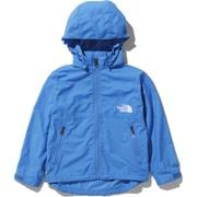 コンパクトジャケット Compact Jacket NPJ21810 (CB)クリアレイクブルー 120サイズ [アウトドア ジャケット キッズ]