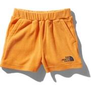 パイルショート Pile Short NBJ42038 (FO)フレームオレンジ 130サイズ [アウトドア パンツ キッズ]
