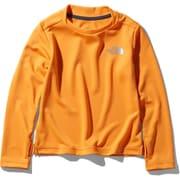 ロングスリーブサンライズティー L/S Sunrise Tee NTJ11914 フレームオレンジ(FO) 150サイズ [アウトドア トップス キッズ]