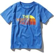 ショートスリーブTNFロゴティー S/S TNF Logo Tee NTJ12024 (CB)クリアレイクブルー 120サイズ [アウトドア トップス キッズ]