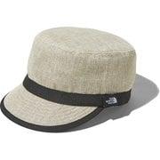 ハイクキャップ KIDS' HIKE CAP NNJ01811 ベージュ(BE) KLサイズ [アウトドア 帽子]