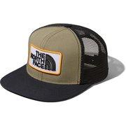 トラッカーメッシュキャップ Kids Trucker Mesh Cap NNJ01912 (BK)バーントオリーブ×ブラック KLサイズ [アウトドア 小物 キッズ]