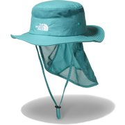 サンシールドハット Kids' Sunshield Hat NNJ02007 ジェイデングリーン(JG) KSサイズ [アウトドア 帽子]