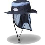 ノベルティサンシールドハット Kids' Novelty Sunshield Hat (NH)アーバンネイビー×クライミングホールド KMサイズ [アウトドア 帽子]