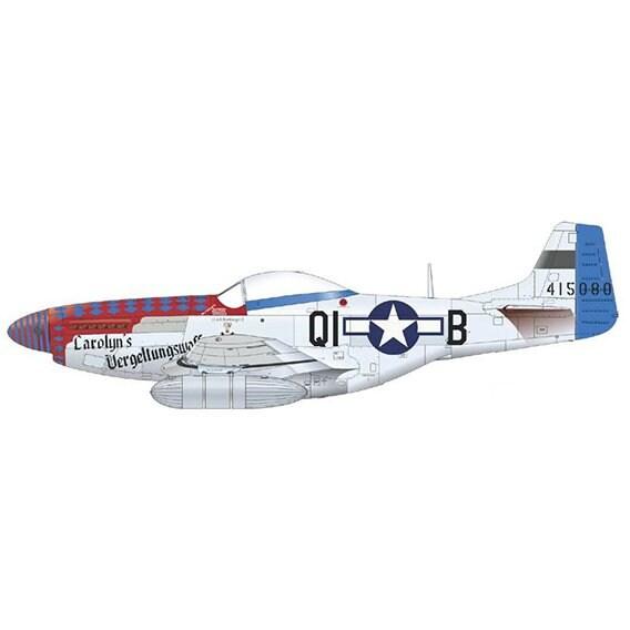 EDU4467 P-51D [1/144スケール プラモデル]