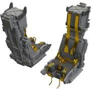 EDU648535 F-14D 射出座席 AMK用 2個入り [1/48スケール レジンキット]
