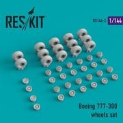 RSK144-003 B.777-300 ホイールセット [1/144スケール ディティールアップパーツ]